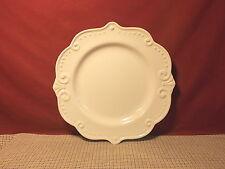 """Pfaltzgraff Dinnerware Madrid White Pattern Dinner Plate 10 3/4"""""""