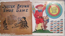"BUSTER BROWN SHOE GAME"" DIECUT PUNCH-OUT PREMIUM W/SLEEVE-1920s"
