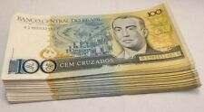 Lot Of Brazil- 80 Uncirculated Banco Central Do Brasil 100 Bank Note