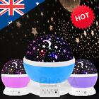 LED Night Sky Star Moon Starry Projector LED Fairy Light Lamp Kids Baby Bedroom