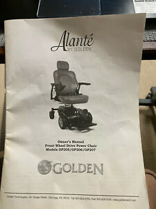 MOBILITY SCOOTER, GOLDEN ADALANTE'