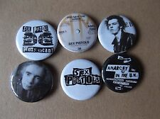 SEX PISTOLS punk badge job lot no.4 ltd edition collectable
