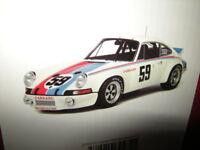1:18 GT-Spirit Porsche 911 RSR #59 Daytona 73 Limited Edition Nr. 728 in OVP
