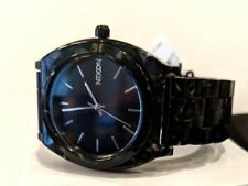 Nixon Womens Watch A327 2185 Time Teller Acetate, Black Marble Band and Case