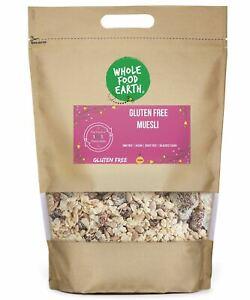 Gluten Free Muesli    GMO Free   Vegan   Dairy Free   No Added Sugar