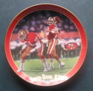 Joe Montana: King of Comebacks-1994 Bradford Plate-Great Super Bowl Quarterbacks