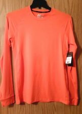 New w/Tags Bright Neon Orange RUSSEL Performance Size S (34-36) Shirt Dri-power