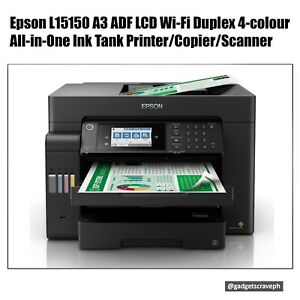 Epson L15150 All-in-One Wi-Fi A3 Duplex Printer with LCD & ADF (Print, Scan, Cop
