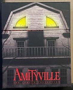 NEW AMITYVILLE THE CURSED COLLECTION BLU RAY + RARE OOP SLIPBOX VINEGAR SYNDROME