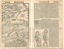 1588 SARMATIA Münster Armenia Azerbaijan Georgia Scythia Albania Iberia Colchis