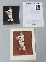 1930's Charles Conlon 6.5x8.5 Photo Tommy Henrich PSA/DNA TYPE 1 LOA FULL LETTER