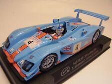 Slot.it CA33B Audi R8 LMP 24hr Le Mans 2001 Gulf livery - suits Scalextric