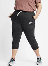 New Nike Women capris Plus Size XL/XXL/XXXL /sport bottomss/soft cotton/gym/£37