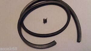 Window Seal Rubber For Plastic Upvc Doors Black Gasket E Type 1m Long From Roll