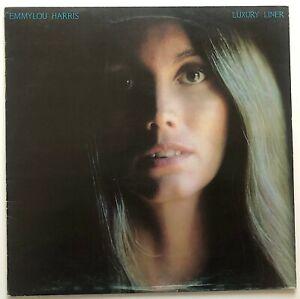 EMMYLOU HARRIS - LUXURY LINER - 1977 UK RELEASE - VINYL, LP, ALBUM - K56334