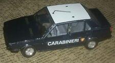 Burago 1/24 Alfa Romeo GIULIETTA 1.6 metal toy car MADE IN ITALY carabinieri 80s