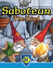 Saboteur Duel 2 Players Card Game Mayfair Games Dwarf Mining Party MFG5716