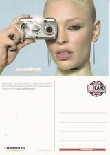 OLYMPUS STYLUS DIGITAL CAMERA UNUSED ADVERTISING COLOUR  POSTCARD
