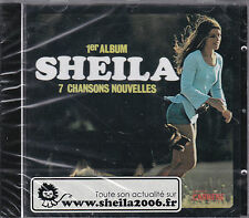 CD SHEILA 1er ALBUM 17T INCLUS LOVE, FRAGILE, + VERSIONS ETRANGERES NEUF SCELLE