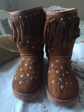 Genuine UGG Australia & Jimmy Choo Starlit tan brown Boots Size UK 6.5 RRP £460