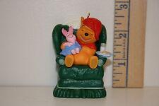 Hallmark Ornament - Waitin' on Santa - Winnie the Pooh and Piglet - 1997