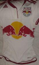 Adidas New York Red Bulls Soccer Jersey NY MLS Short SleeveTop  Sz S Red Bull