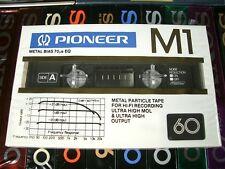 1 x PIONEER M1 60 TYPE:IV Metal MC Cassette Tape OVP! Rare! Vintage 1982!