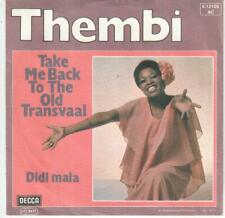 """<6659-54> 7"""" Single: Thembi - Take Me Back To The Old Transvall"""