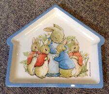 Beatrix Potter Peter Rabbit House Shaped Melamine Plate