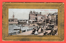 Vintage card. Dated 1917. Tthe Parade , Margate, Kent