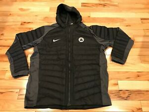Nike Boston Celtics Team-Issued Aeroloft Jacket Black Silver 877839 010 3XL