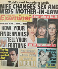 National Examiner June 10 1986 Angry Ladies of Dallas - 007 Bond Ghost Spooked