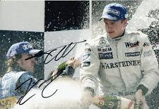 Autogramme & -graphen von Formel 1-Fahrern