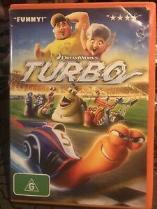 Dreamworks Turbo - DVD - R4 - Free Postage