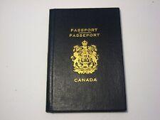 1942 Canada Passport