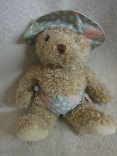 "Vintage Eden Teddy Bear Plush with Hat 12"""