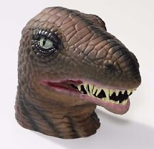 Latex Dinosaur Mask Large Realistic TREX Head Face Halloween T-Rex Mens Adult