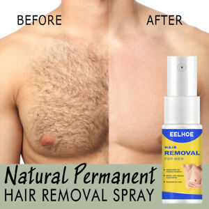 100% Natural Permanent Hair Removal Spray Stop Hair Growth Inhibitor Remover ba