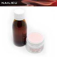MakeUp Acryl Set: Liquid 100ml + 41g Acryl-Pulver CAMOUFLAGE S-PINK/ Acryl-Puder