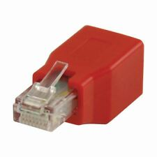 Nedis Cat 6 Crossover Network Adapter RJ45 Male to RJ45 Female Red