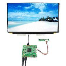 "HDMI TYPE C LCD Controller Board HDR 15.6"" LQ156D1JW04 3840X2160 IPS LCD Screen"