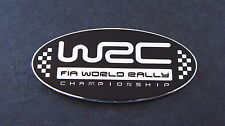 WRC World Rally Championship Aluminium Badge WRX STI SPORT