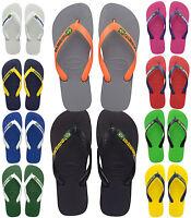 Havaianas Flip Flops Brasil Logo Unisex Summer Beach Sandals All Sizes £22 RRP