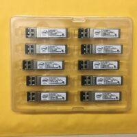 10pcs Intel E10GSFPSR FTLX8571D3BCV-IT  SFP+ Transceiver For X520-DA2/SR2