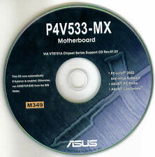 ASUS P4V533-MX Motherboard Drivers Install  M349