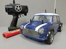 Use Tamiya 1/10 RC Rover Mini Cooper Racing FF M-03 Chassis +Futaba +ESC+Battery