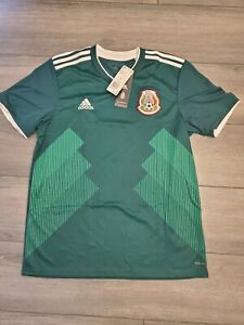 ADIDAS MEXICO HOME JERSEY FIFA WORLD CUP 2018 SIZE M