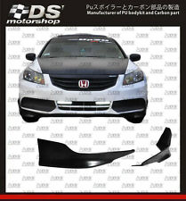 HONDA ACCORD PU FRONT LIP EXTENSIONS 2011