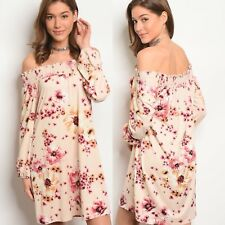 🌸NWT Small womens Floral Summer Boutique Dress USA