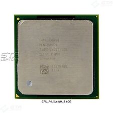 Intel Pentium 4 2.60 GHz SL6WH Socket 478 CPU Working Pull